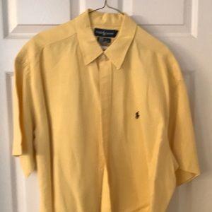 Ralph Lauren button down short sleeve shirt